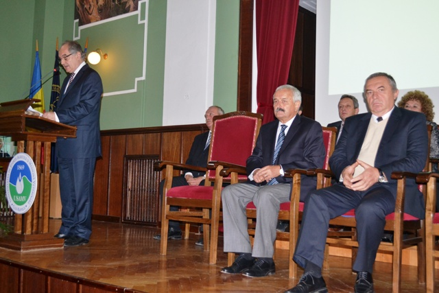 New academic 2013-2014 Cluj UASVM Cluj 02